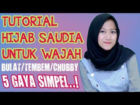 4 Kesalahan Menggunakan Hijab Pasmina untuk Wajah Bulat.