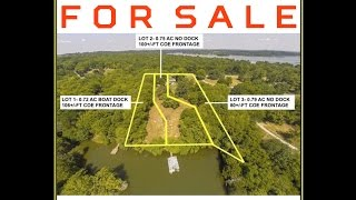 3 Lakefront Lots For Sale In  Mount Juliet TN 37122