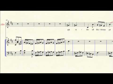 Alto Aria: Gloria in D 10 Qui sedes ad dexteram Patris - Vivaldi