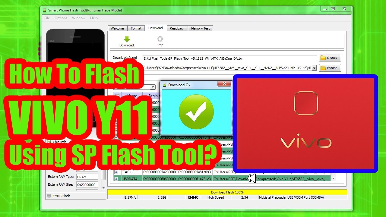 How To Flash VIVO Y11 Using SP Flash Tool