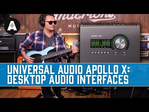 Apollo x4 Interface & The Andertons Band