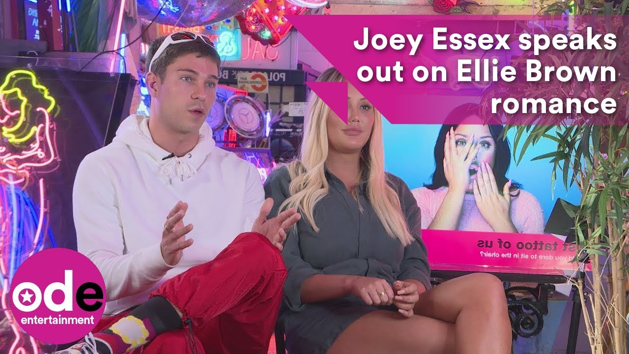 Joey Essex speaks out about Love Island's Ellie Brown romance