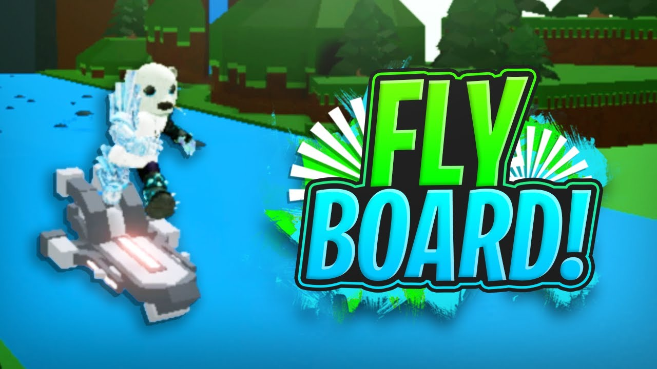 LEGENDARY FLY-BOARD GLITCH!!! - Build a Boat For Treasure ROBLOX