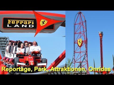 Ferrari Land portaventura – Reportage, Park, Attraktionen, Onride – Ferrari Land Red Force