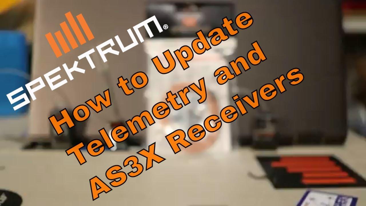How to Update Spektrum Receivers