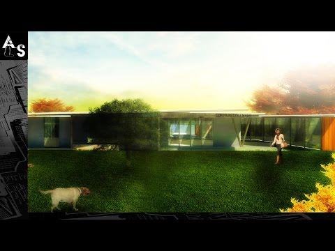 Architecture Illustration: Post Production 1