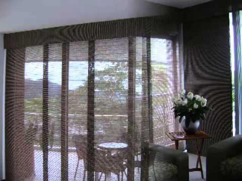 Persianas cortinas panel japones estudio cuartos salas
