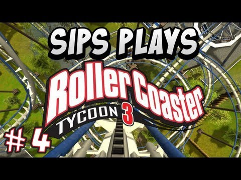 Roller Coaster Tycoon 3 - Part 4 - Cool Pool