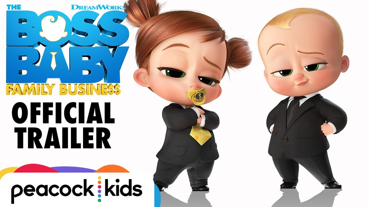 Download THE BOSS BABY: FAMILY BUSINESS | Official Trailer