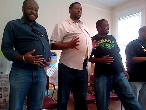Pregnant Man Game At Baby Shower