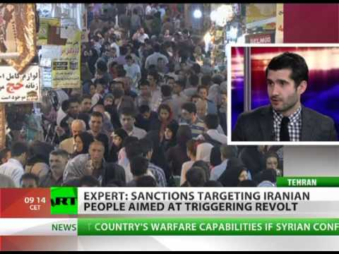 'US sanctions on Iran aim at regime change by making civilians suffer'