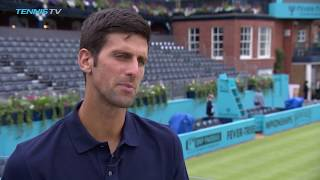 Djokovic Reflects On Murray's Return At The Queen's Club