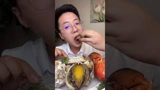 중국인은 해산물을 먹습니다  랍스터, 게, 문어, 대왕…