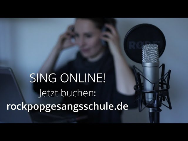 SING ONLINE! (Online Coaching Trailer)