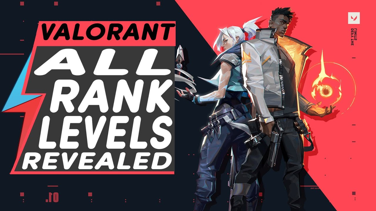 ALL Valorant RANK LEVELS and HOW RANK WORKS IN VALORANT