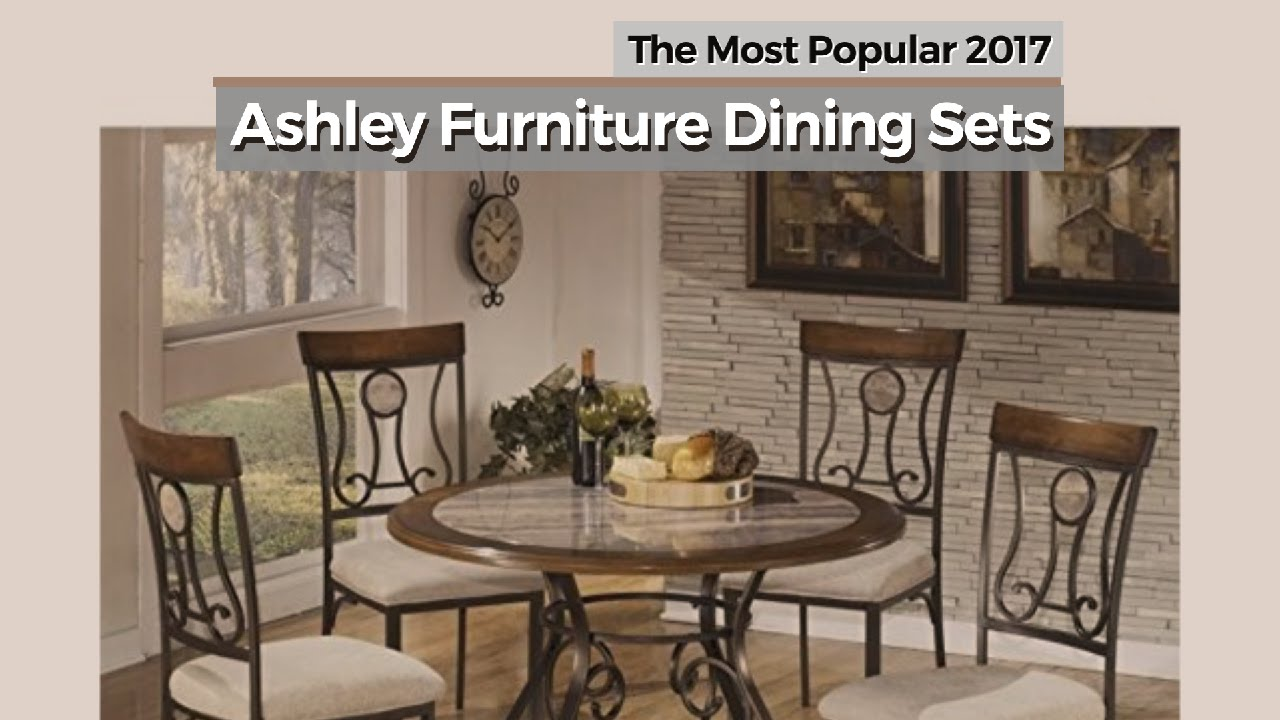 ashley furniture dining sets the most popular