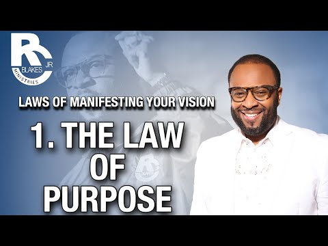 THE LAWS OF MANIFESTING YOUR VISION by RC BLAKES