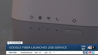 Google Fiber launches 2Gbps service