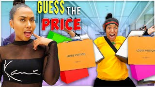 If you GUESS The Price I'll BUY You EVERYTHING Challenge!!