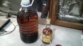Приготовление виски дома часть 2