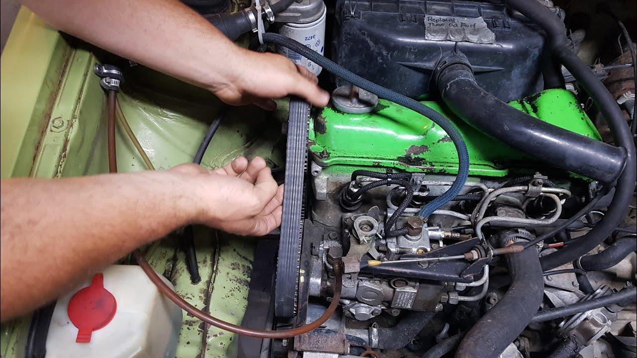 Mk1 Rabbit  Jetta  Caddy 1 5l Diesel Timing Belt Replacement