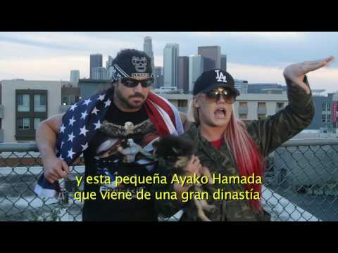 Johnny Mundo y Taya desde Los Angeles - Lucha Libre AAA Worldwide - Abril 2017