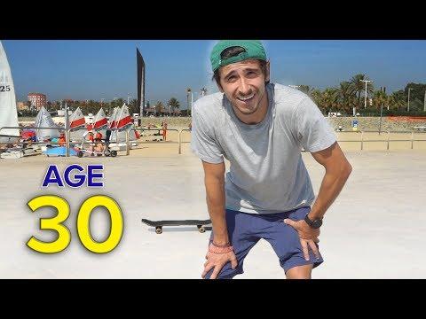 1 Year of Skateboarding Progression at 30