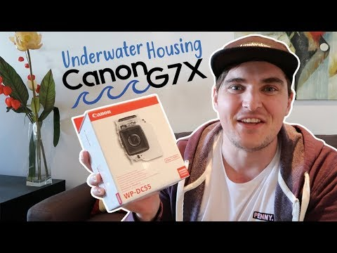 Unboxing the Canon WP-DC55: The Official Underwater Housing for the Canon G7X Mark II