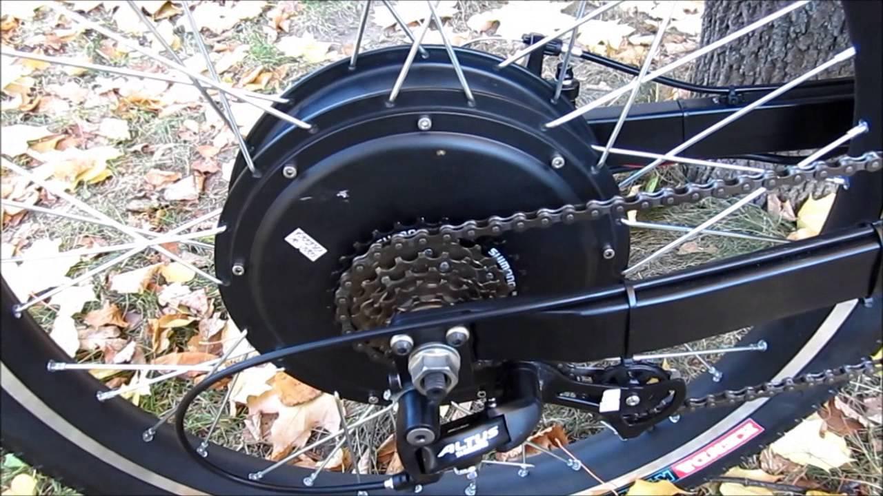 Двигатель (мотор-колёсо) для гироскутера 6