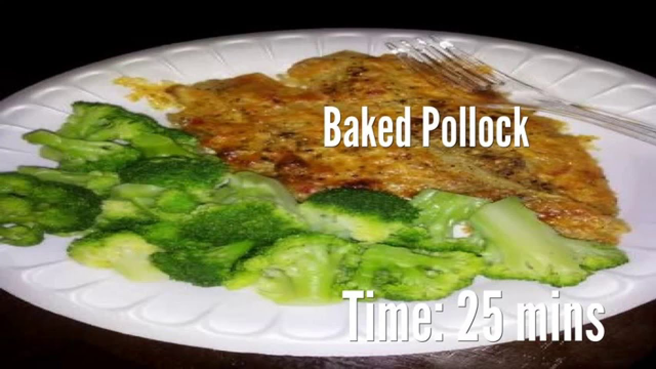 Grilled pollock. Cooking recipes 73