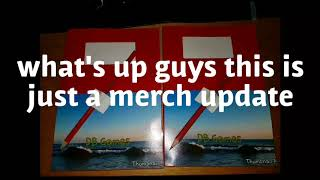 Merch update new stuff and more