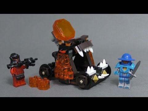Recenzja LEGO Nexo Knights - Zestaw 70311 - Chaos Catapult - YouTube