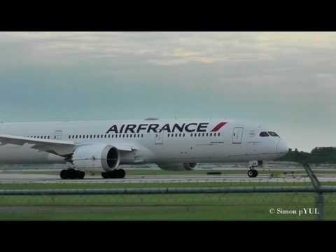 Amazing Plane Spotting at Montreal Airport (YUL) / Close-up Takeoffs rwy 06R ~ 2017-JUN-15