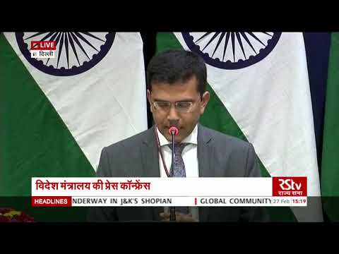 MEA briefing on how India foiled Pakistan's airstrike