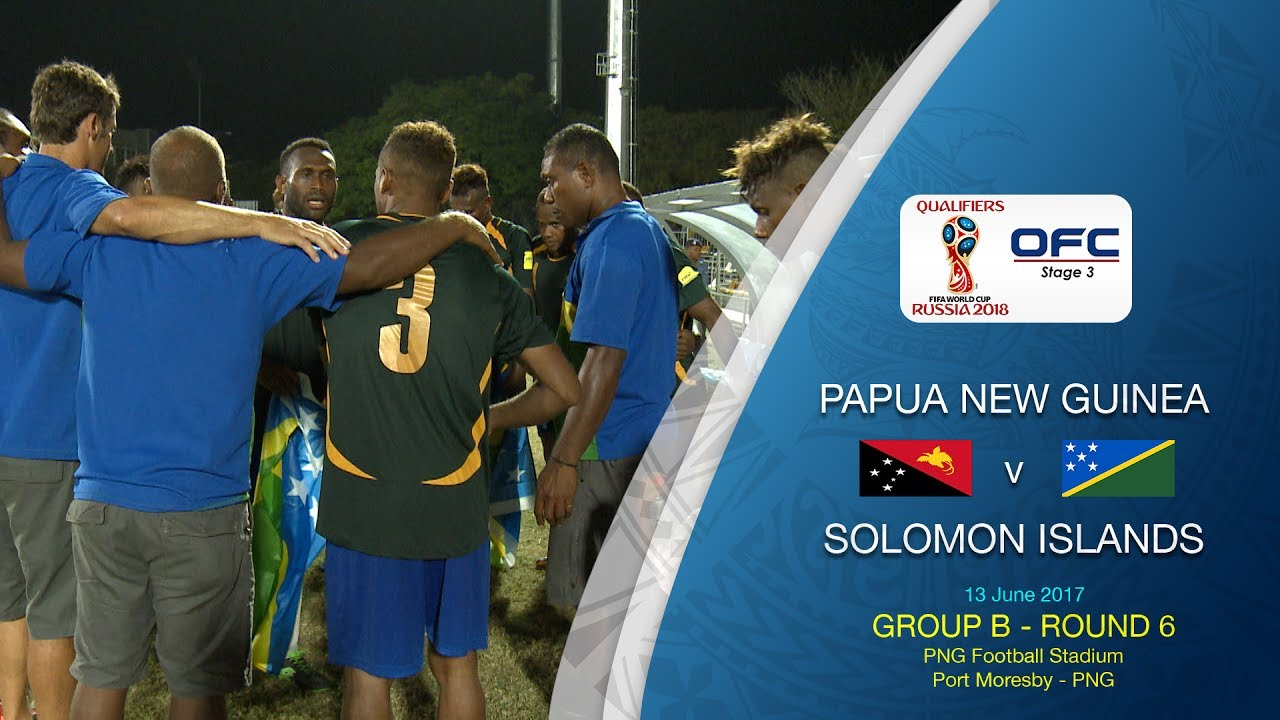 Папуа - Новая Гвинея - Соломоновы Острова 1:2 видео