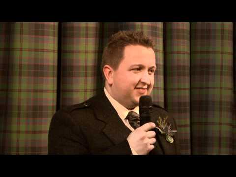 Neil Paterson and Billy Reid - Groom and Best Man Speeches