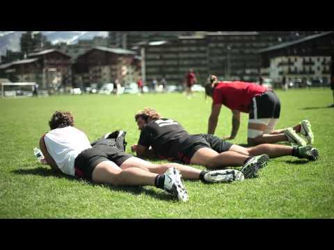 Rugby Club Toulon: Training with Technogel® Sleeping - Wilkinson, Hayman, Palisson