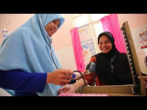 Tsunami 10 Years Later - Aceh, Indonesia - Midwife