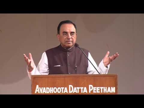 "Dr Subramanian Swamy Speech on ""We As Hindu Nation"" on Datta Jayanthi Day"