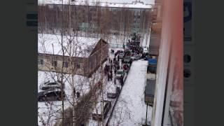 Учеников школы  № 8 эвакуировали после сообщения о бомбе