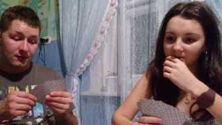 Игра в КАРТЫ на ДУРАКА с друзьями дома