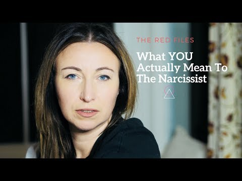 What YOU Mean To The Narcissist | The Red Files | Balance Psychologies