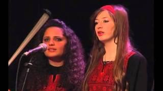 قدود حلبية - وصلة بيات -الفرقة الوطنية للموسيقى العربية - فلسطين - بقيادة رمزي ابو رضوان