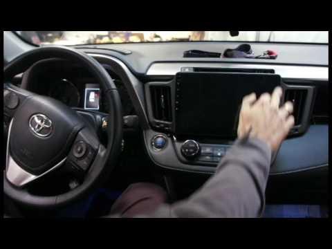 Toyota RAV4 + Redpower 310 серии обзор и установка