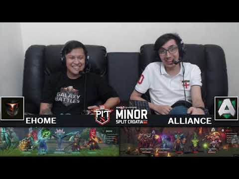Alliance vs EHOME vod