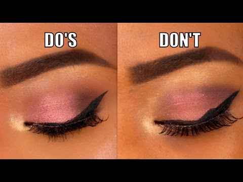 Eyeshadows Do's and Don'ts (Tips & Tricks)