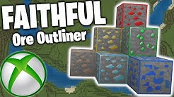 How to Download Faithful Ore Outliner on Minecraft XboxOne! Tutorial (New Method) 2020