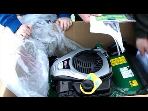 Gardening with Rik:unboxing and review of the Gardenline Aldi lawnmower