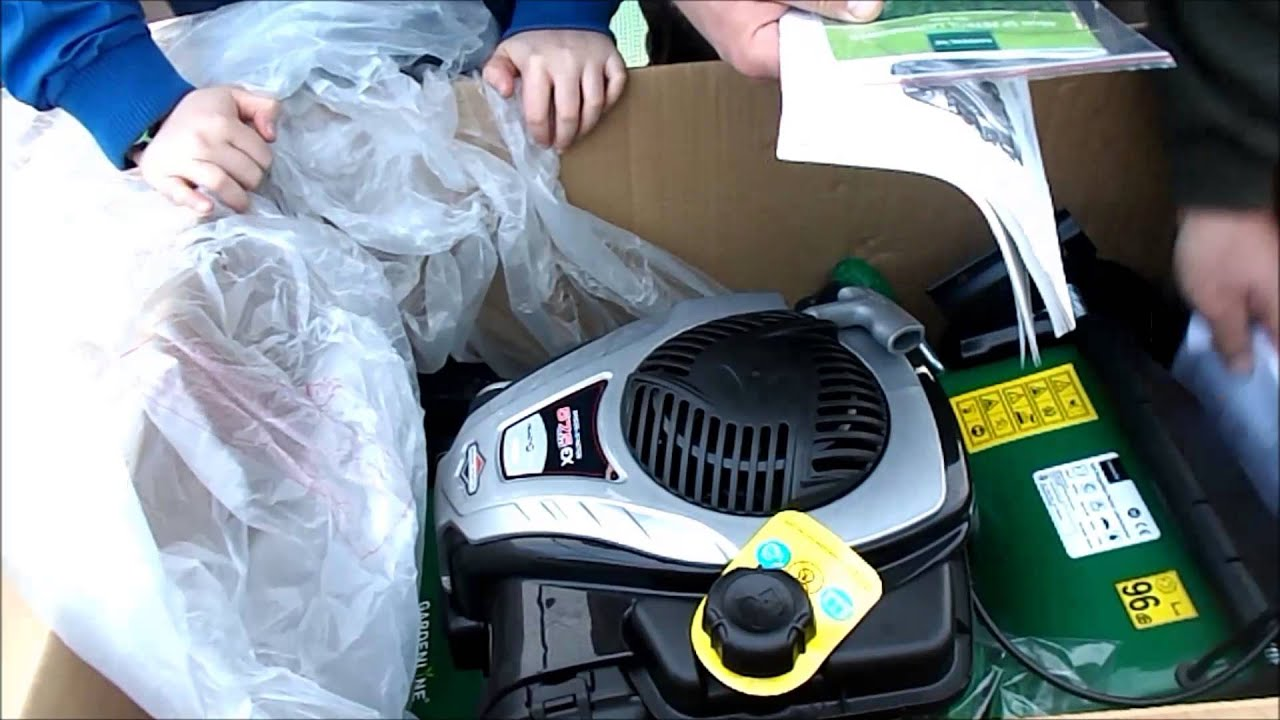 Gardening With Rik Unboxing And Review Of The Gardenline Aldi Lawnmower