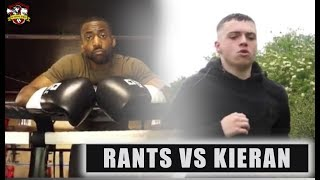 The Talking STOPS! Rants n Bants vs Kieran Hipgrave FIGHT Preview